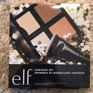 Elf contouring set: palette and brush